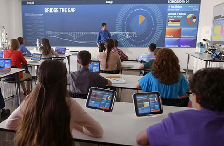 Technology in favor oflearning